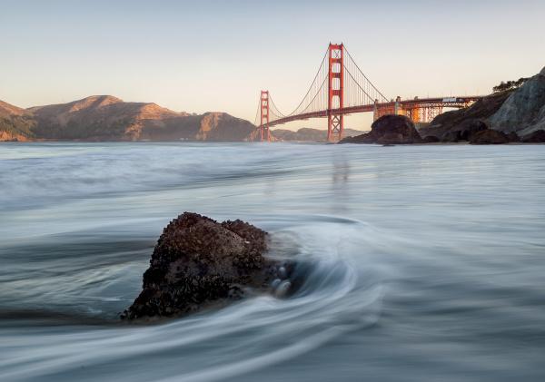 Golden Gate in the morning