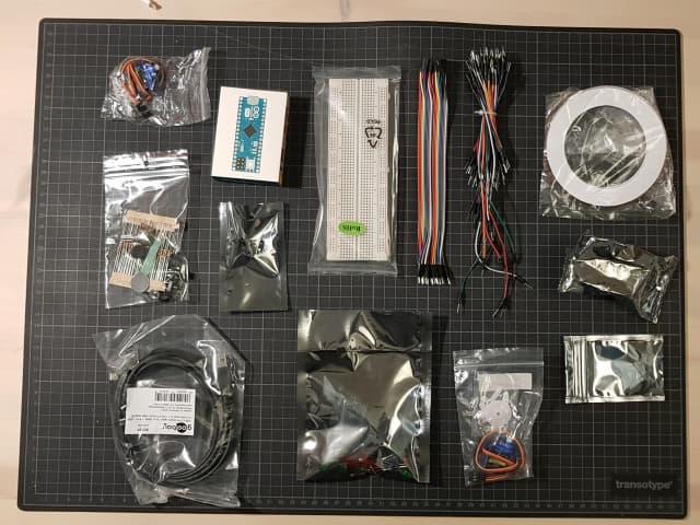 The MAU Arduino kit