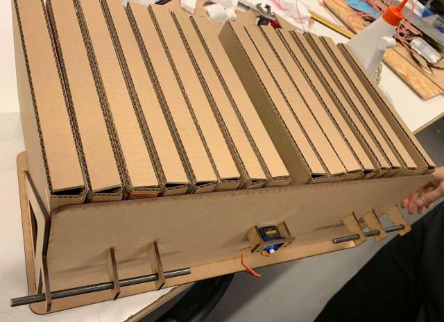 The assembled book case