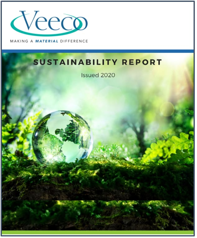 Veeco 2020 Sustainability Report