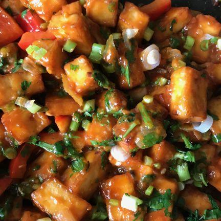 Vegetarian Rasoi Chilli Paneer
