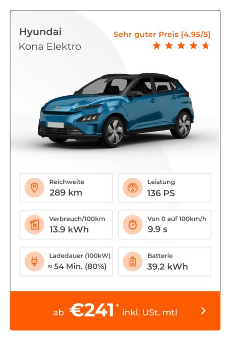 Hyundai Kona Elektro-Leasing