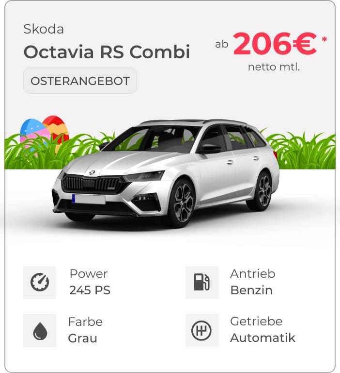 Skoda Octavia RS Combi Osterangebot VEHICULUM Leasing