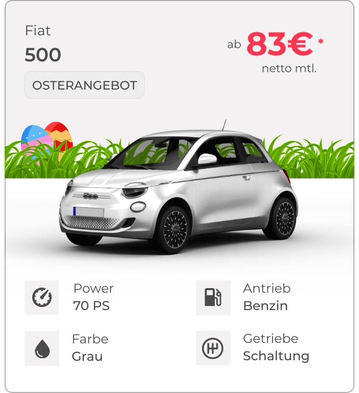 Fiat 500 VEHICULUM Oster Leasingangebot