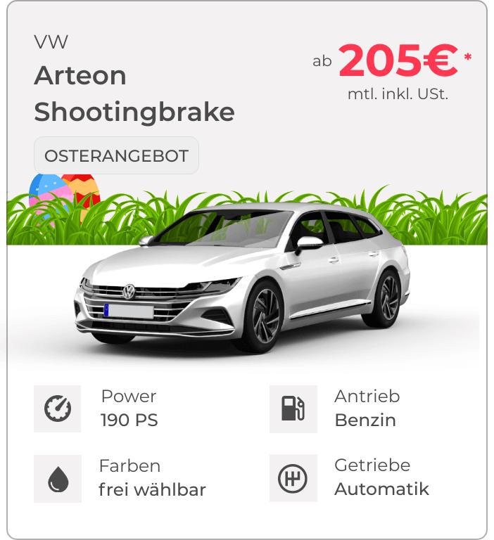 VW Arteon VEHICULUM Oster Leasingangebot