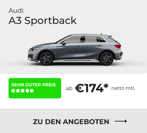 Audi A3 Sportback Leasing Angebote