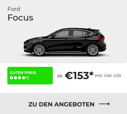 Ford Focus Privatleasing Angebote