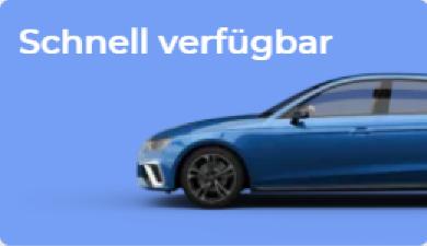 Leasingangebote für schnell verfügbare Autos