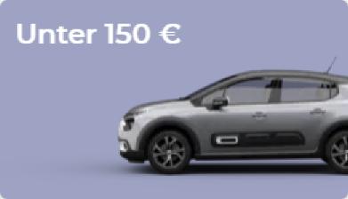 Leasingangebote für unter 150 Euro