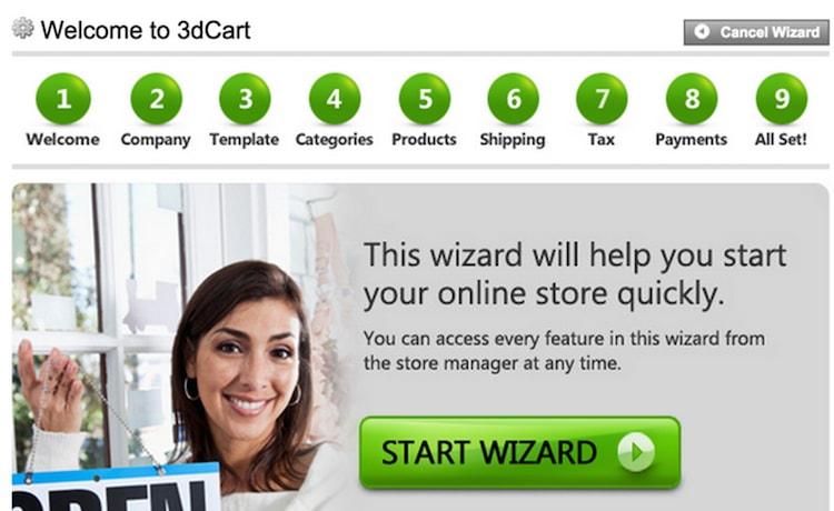 3dCart setup