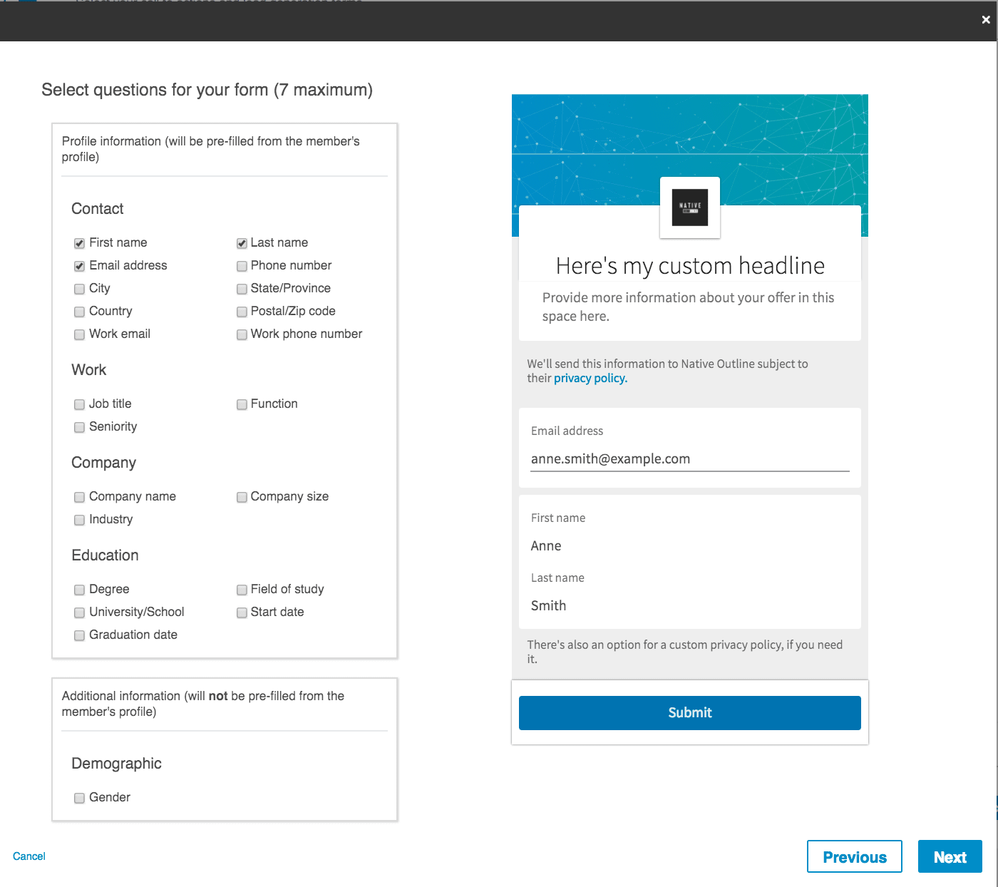 The Ultimate Guide to LinkedIn Lead Gen Forms