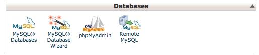 MySQL database setup for WordPress