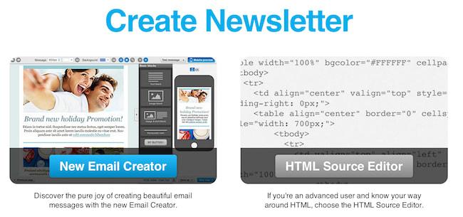 Create a newsletter