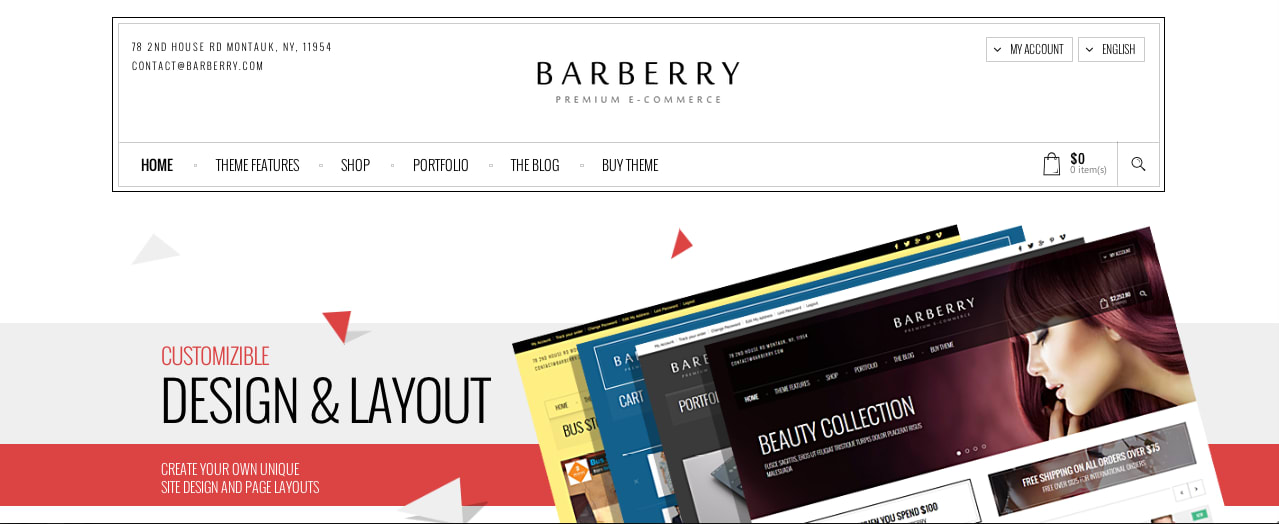 Barberry WP template