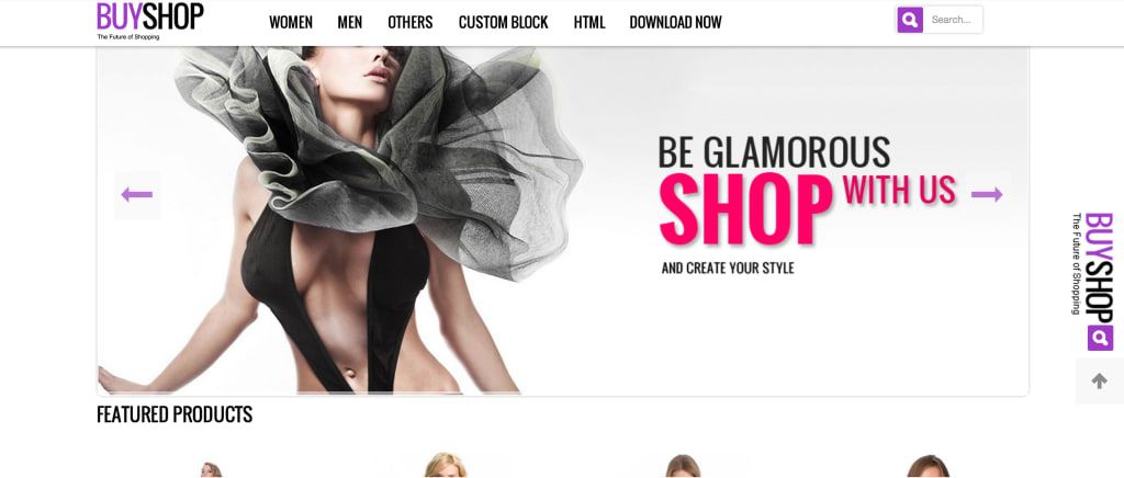 Buy shop Magento theme