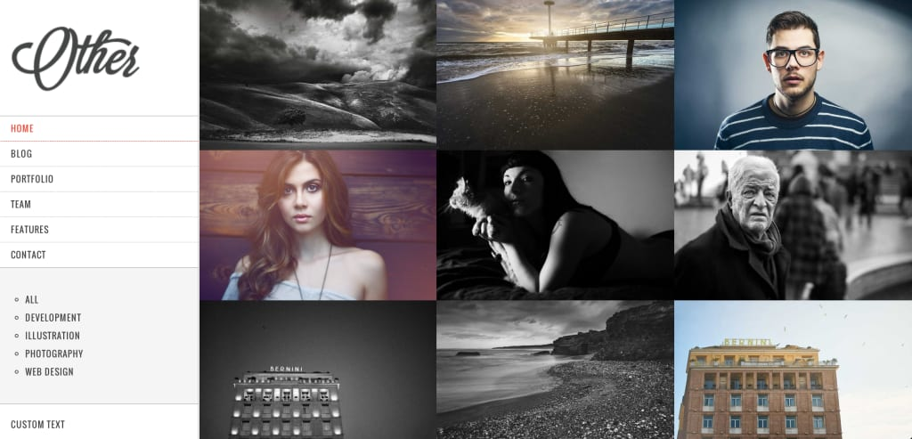 Other Drupal Theme
