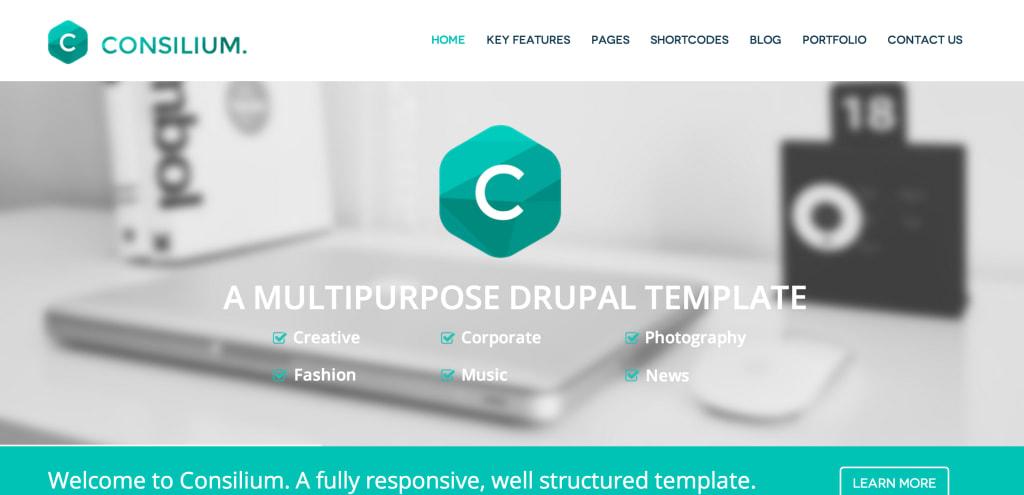 Consillium Drupal Theme
