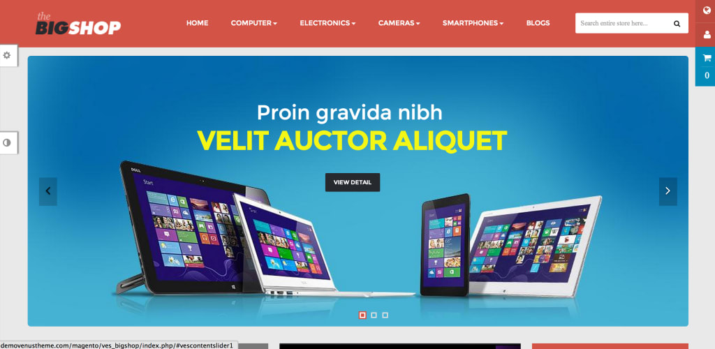 Ves Big Shop Magento theme