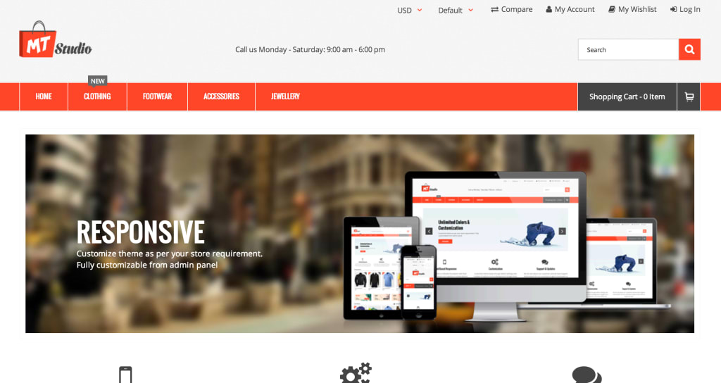 MT Studio Magento theme