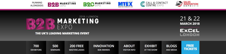 B2B marketing Conference London