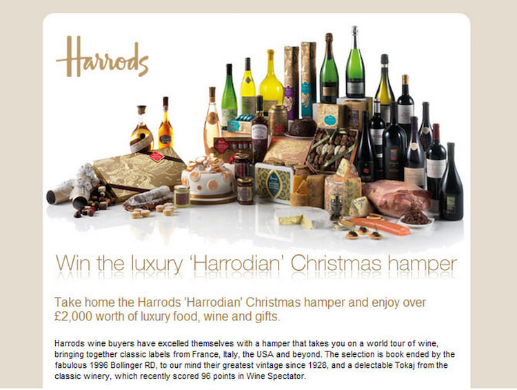 harrods-email-marketing
