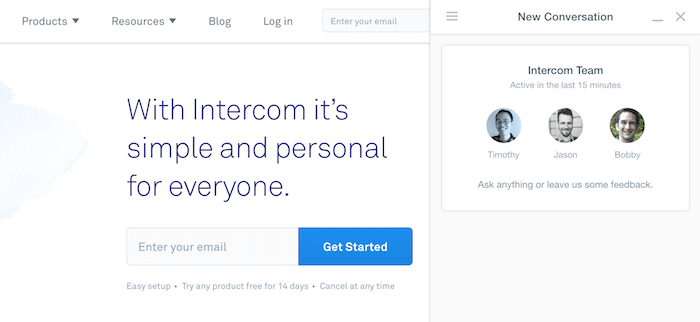 intercom-live-chat