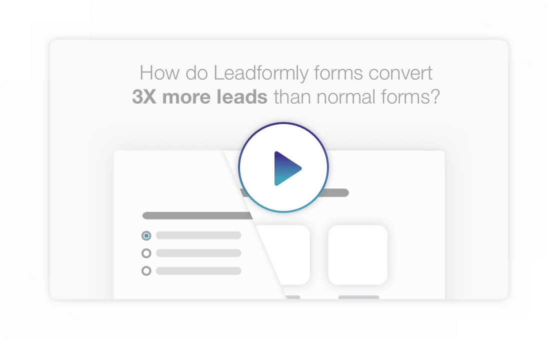 How do LeadForms convert 3X better than normal forms?