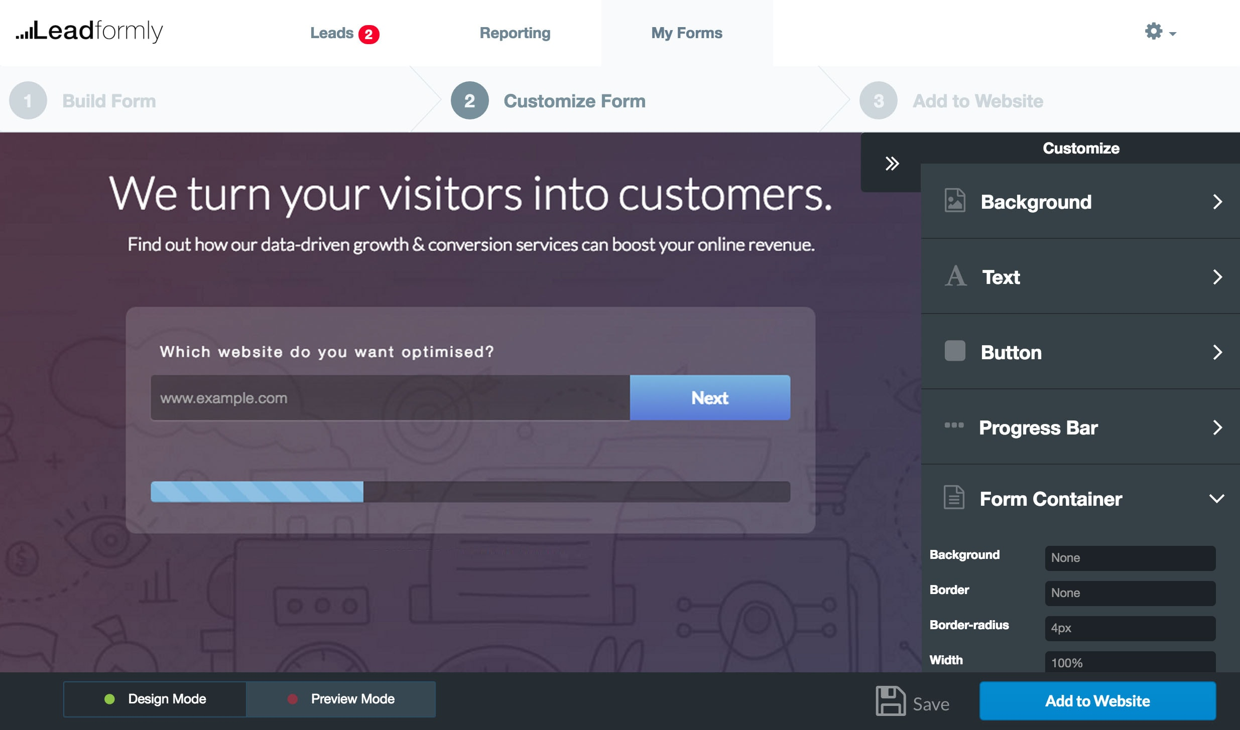 Leadformly: High-Converting Lead Capture Forms for Marketers
