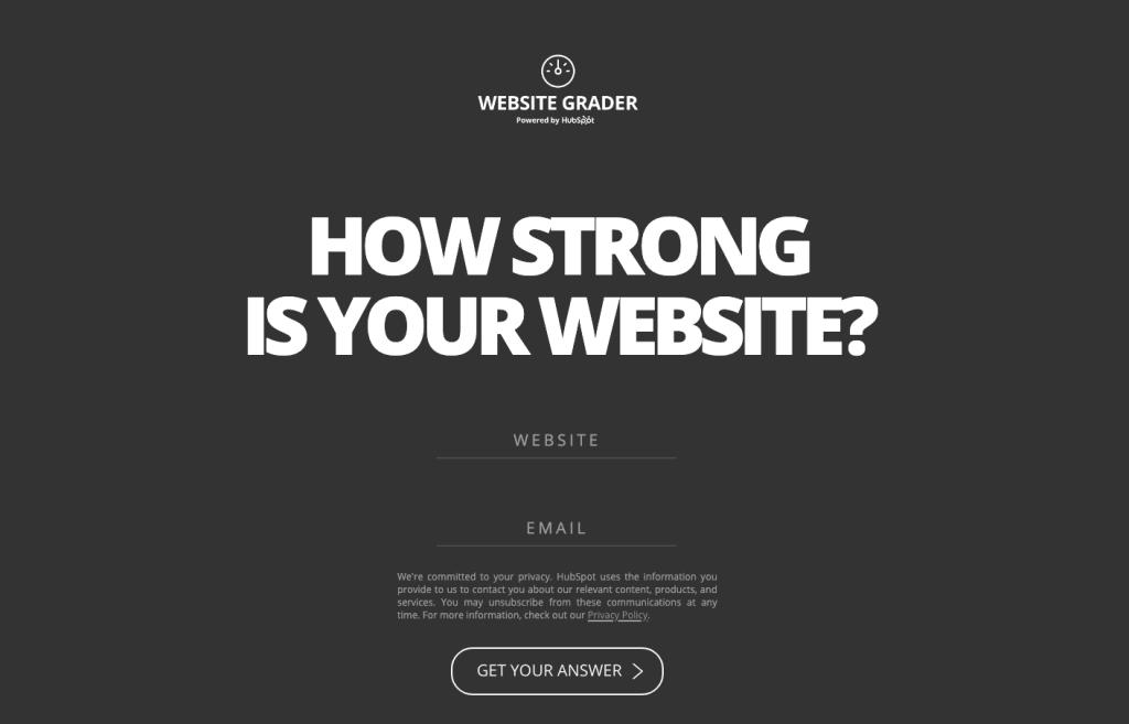 vl-website-grader