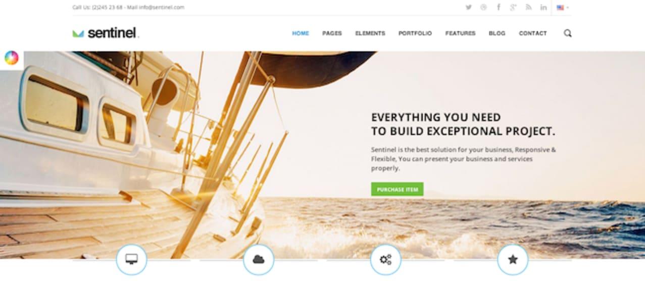 Feather WordPress paid theme