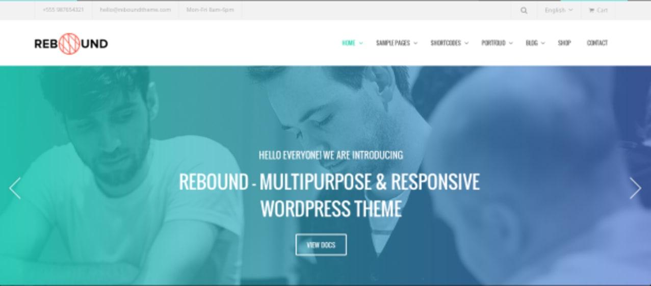 Rebound Premium WordPress Theme