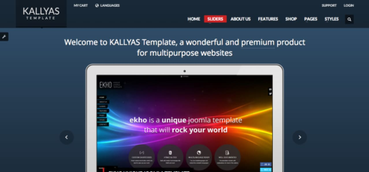 Kallyas premium WP theme