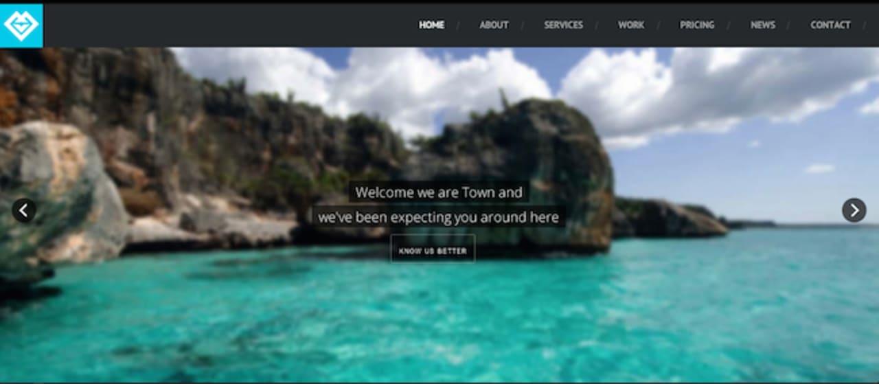Town WordPress paid theme