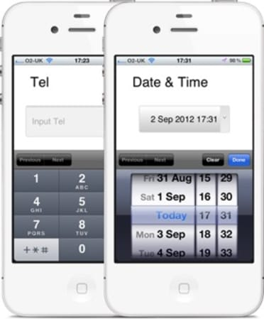 mobile-input-types