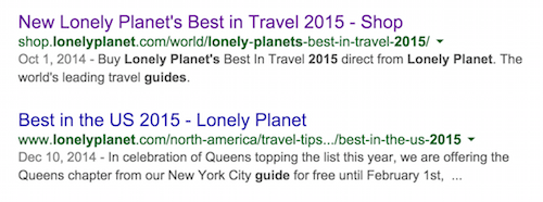 Lonely Planet best places to travel
