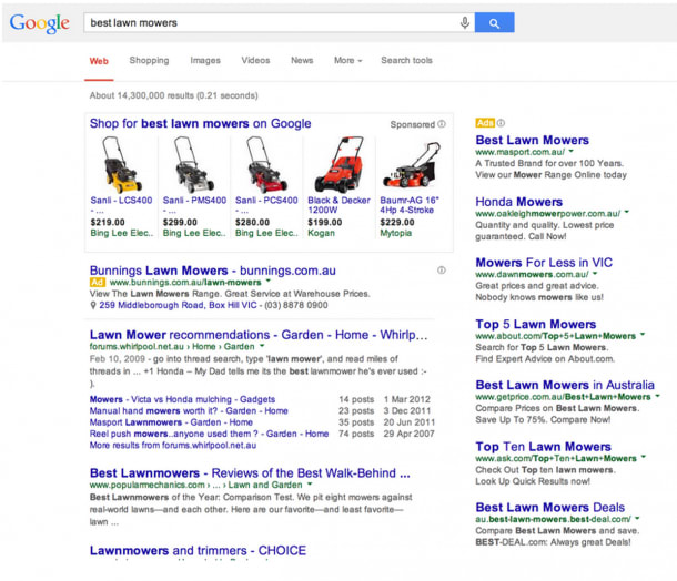 Competitor SERPs