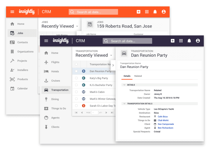 insightly crm view