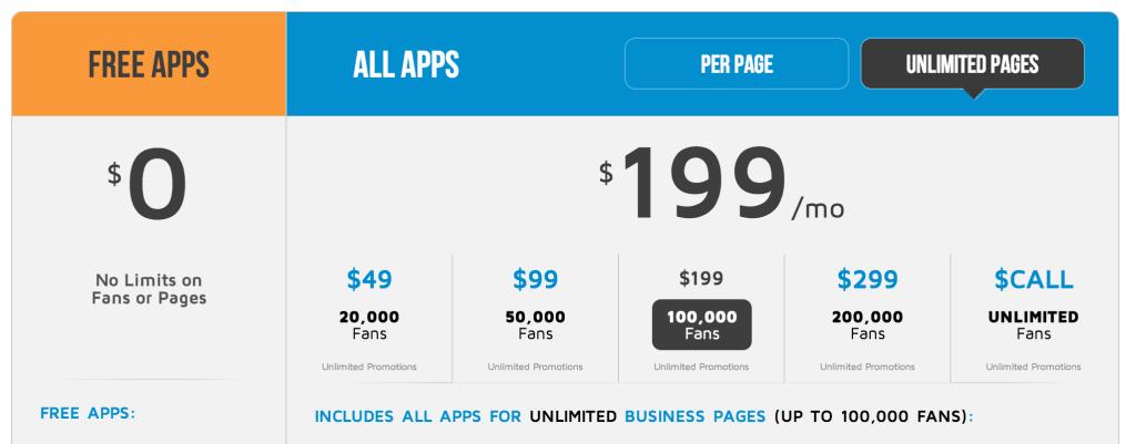 Woobox pricing