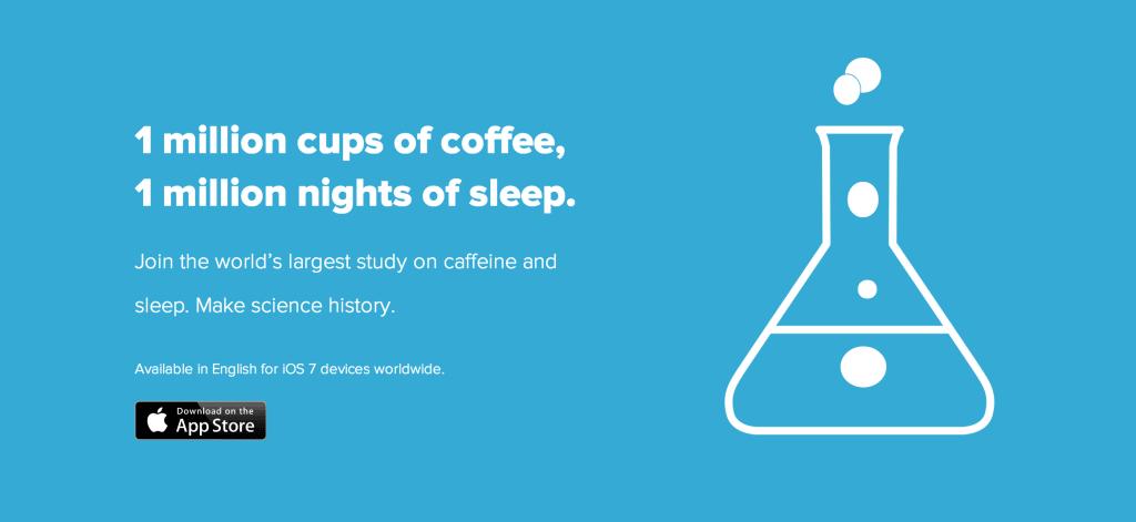 Coffee study Jawbone Up