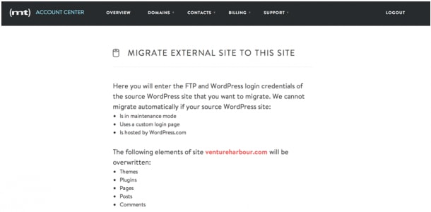 Migration tool