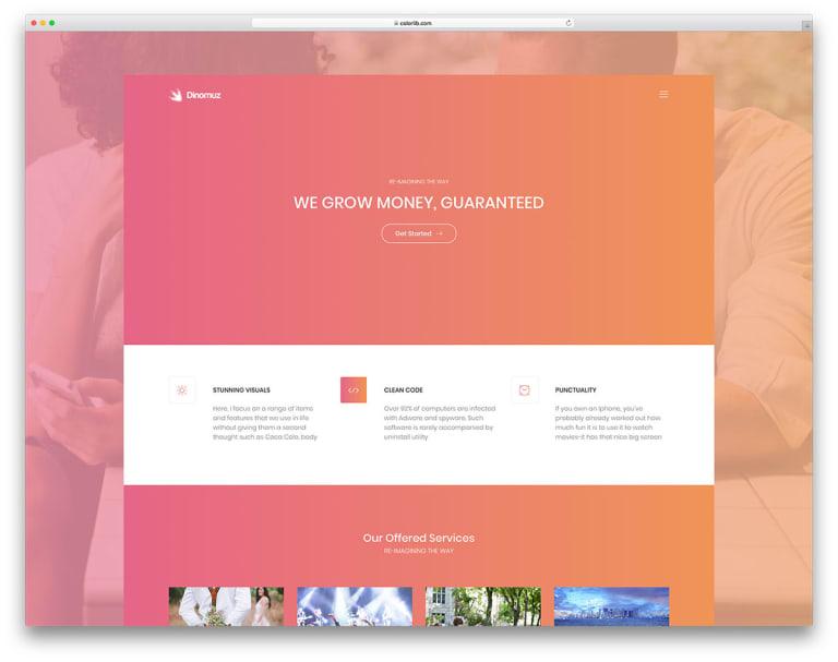 dinomuz-free-creative-website-template