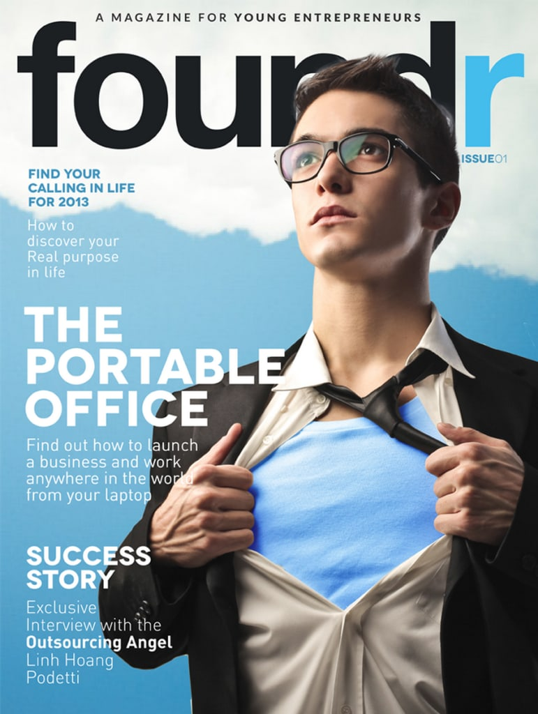 Foundr first issue