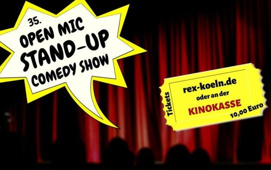 35. OPEN MIC - Comedy-Show am 03.03.2020