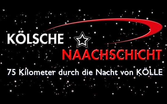 """75km Nachtlauf """"Kölsche Naachschicht"""" am 26.06.2021"""
