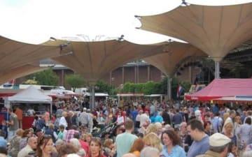 Tanzbrunnen Fischmarkt