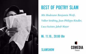 Best of Poetry Slam im Comedia Theater