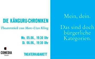 Die Känguru-Chroniken: das Stück im Comedia Theater
