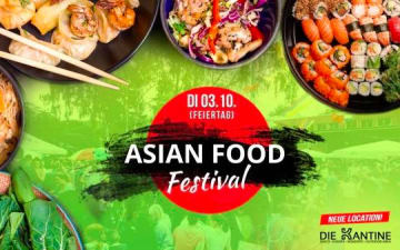 Asian Food Festival in der Kantine