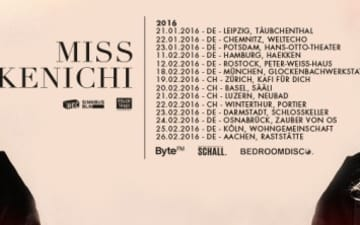 "Miss Kenichi auf Tour mit ihrem Album ""The Trail"""