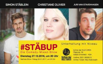 Stäbup! Die Comedy-Mixed-Show
